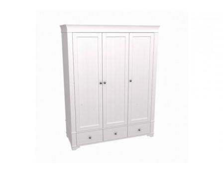 Шкаф 3-х дверный с глухими дверями БЕЙЛИ