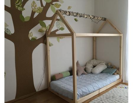 Кровать домик Минт Д - 204