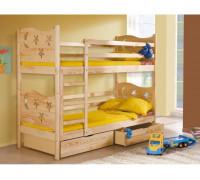 Кровать детская двухъярусная Минт К - 059