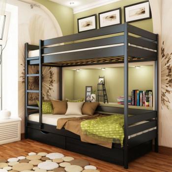 Кровать детская двухъярусная Минт К - 002