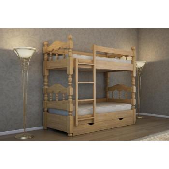 Кровать детская двухъярусная Минт К - 053