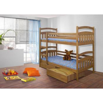 Кровать детская двухъярусная Минт К - 004