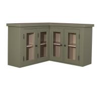 Верхний кухонный шкаф угловой Матильд