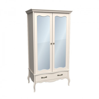Шкаф 2-х дверный ЛеБо с зеркалом