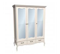 Шкаф 3х дверный ЛеБо с зеркальными дверями
