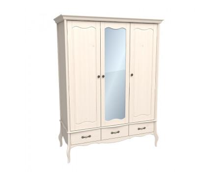 Шкаф 3х дверный с зеркалом ЛеБо
