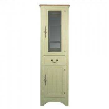 "Узкий шкаф-витрина ""Olivia"""