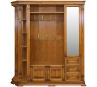 Шкаф открытый угловой для прихожей